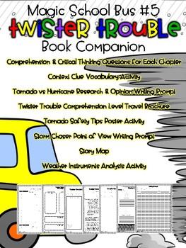 Twister Trouble - Magic School Bus Chapter Book Companion