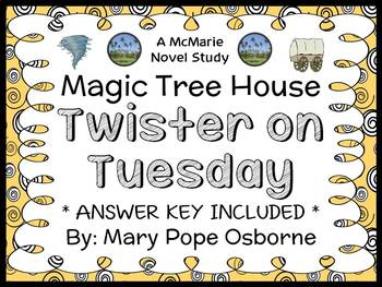 Twister on Tuesday : Magic Tree House #23 Novel Study / Reading Comprehension