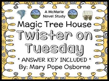 Twister on Tuesday : Magic Tree House #23 Novel Study / Re