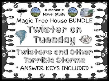 Twister on Tuesday   Twisters and Other Terrible Storms: Magic Tree House BUNDLE