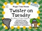 Twister on Tuesday by Mary Pope Osborne:  A Complete Literature Study!
