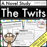 The Twits Novel Study Unit: comprehension, vocabulary, activities, tests