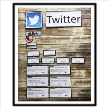 Twitter All About Me Bulletin Board using Google