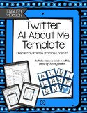 Twitter All About Me Template - English