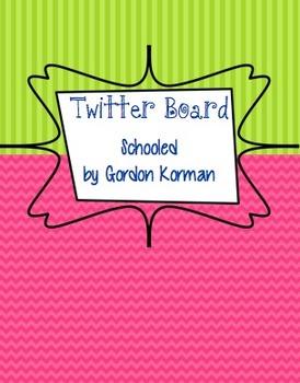 Twitter Bulletin Board for Schooled