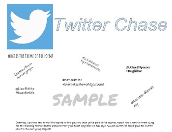 Twitter Chase-Poetry Review