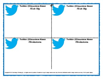 twitter classroom activity free free free by surviving to