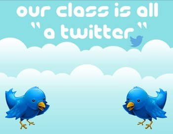 Twitter Classroom Sign