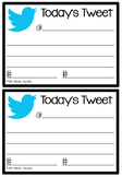 Today's Tweet Exit Cards