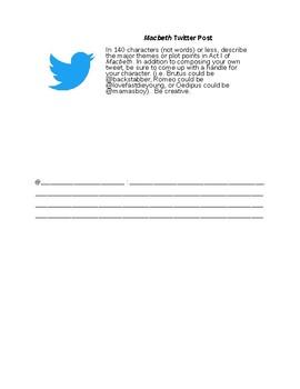 Twitter Exit Ticket