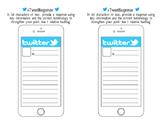 Twitter Exit Ticket Response