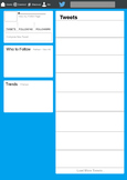 Twitter Feed Template for Projects