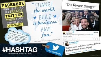 Twitter Graphic Organizer, Presentation and Exit Slip