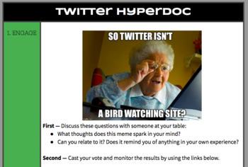 Twitter Hyperdoc