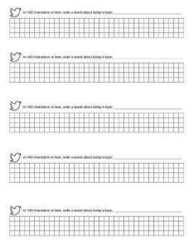 Twitter Paper Debrief