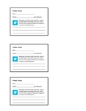 Twitter Prediction Cards