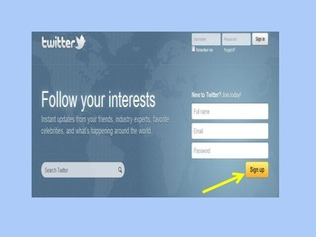 """Twitter Presentation How to """"Follow Me"""""""