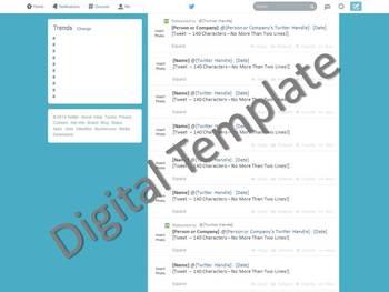 Twitter Template - Social Media (Lite Version)