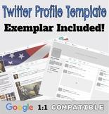 Twitter Profile Templates in Google Drawings | Google Read