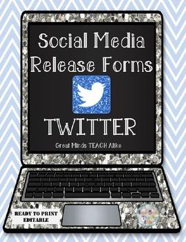 Twitter Release Form (Editable)