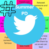 Twitter Summer PD Tic-Tac-Toe