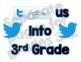 Twitter Social Media Theme Follow Us Bulletin Board Decoration 3-12 {Editable}