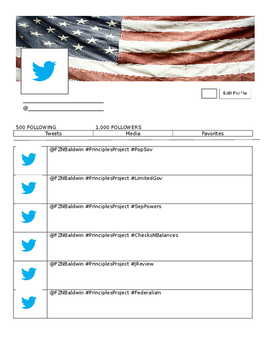 Twitter Template