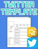 Twitter Template (Editable on Google Slides)