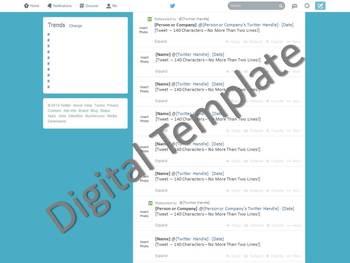 Twitter Template - Social Media (Full Version)