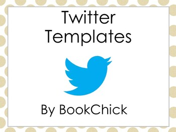 twitter templates using social media in the classroom by bookchick