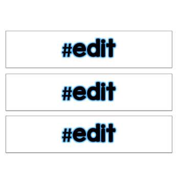 Twitter Trending Social Media Technology Theme Hashtags Bulletin Board