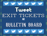 Twitter Tweet Exit Ticket Slip Assessment Back to School