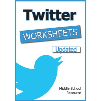 Twitter Worksheets