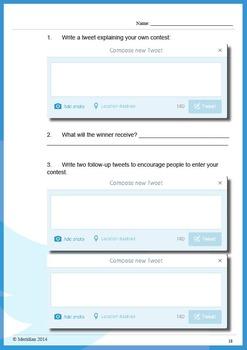 Twitter Worksheets