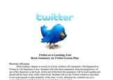 Twitter as a Learning Tool