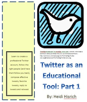 Twitter as an Educational Tool: Part 1