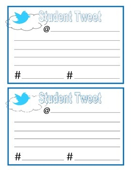 Twitter exit card