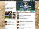 Twitter Template - Character Page - Fake Twitter page