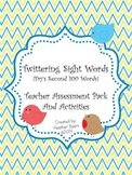 Twittering Sight Words {Fry's Second 100 Words} Teacher Assessment Pack