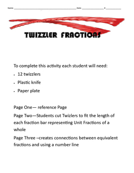Twizzler Fractions