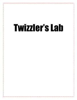 Twizzler's Lab- Discovering Slope Intercept Form