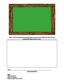 Two Bad Ants, Activity Menu and Literacy Centers