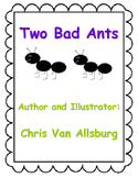 Two Bad Ants Activity Pack!!! EXTRA ACTIVITIES FOR THE WEEK!