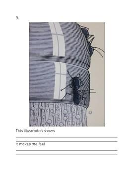 Two Bad Ants Analyzing Illustratoins
