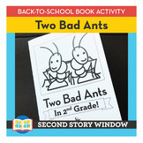 Two Bad Ants • Back to School Book Companion Activity • 1s
