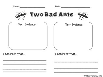 Two Bad Ants Inferencing