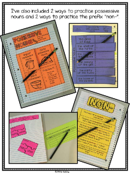 Two Bad Ants (Interactive Notebook Pages)