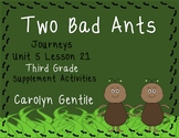 Two Bad Ants Journeys Unit 5 Lesson 21 Third Grade  Supp. Act.