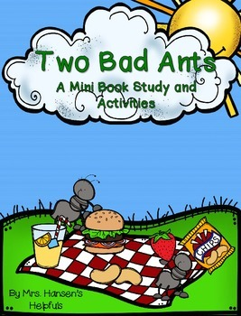 Two Bad Ants Literature Study and Activities