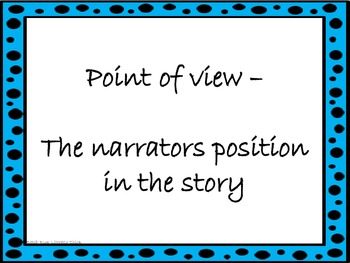 Two Bad Ants - Point of View Activities
